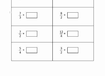 Identifying Fraction Worksheets Improper to Proper – Papakambing