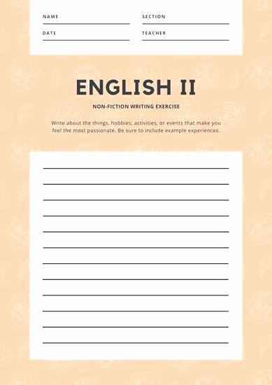 Identifying Genre Worksheets Customize Worksheet Templates Line Science Fiction Writing