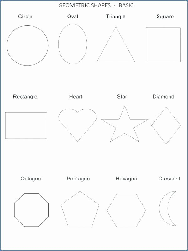 Identifying Shapes Worksheets Free Printable Geometry Worksheets Kindergarten Shapes Ts