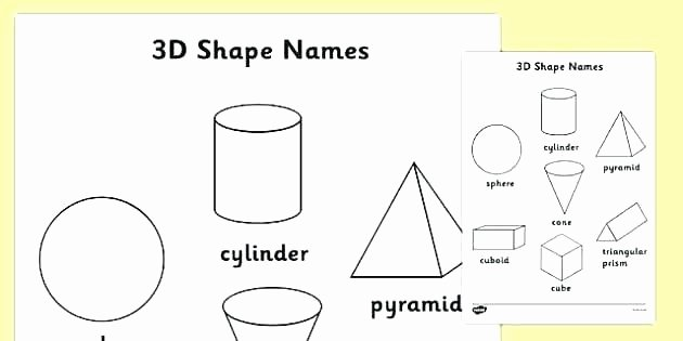 Identifying Shapes Worksheets Properties Of 3d Shapes Worksheets – Slaterengineering