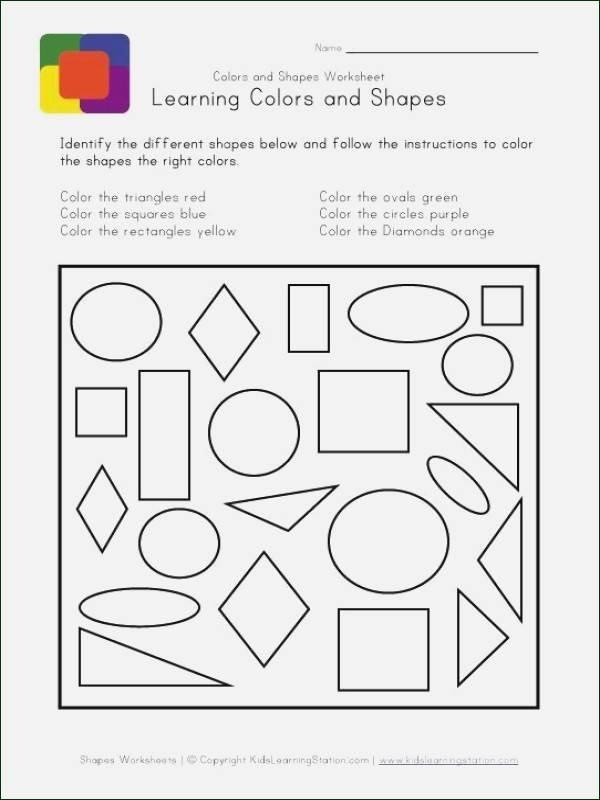 Identifying Shapes Worksheets Shapes Worksheets