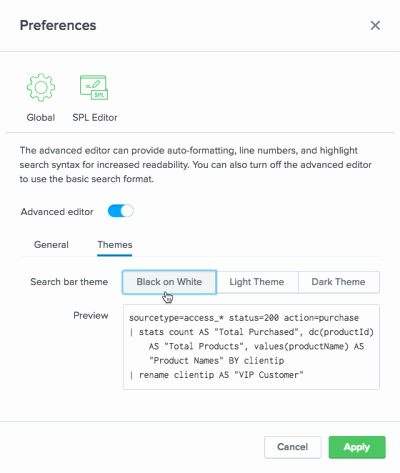 Identifying theme 2 Answers Help Reading Searches Splunk Documentation
