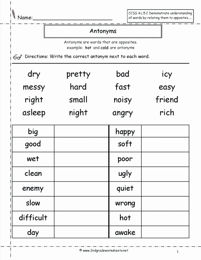 Idiom Worksheets for 2nd Grade 1st and 2nd Grade Worksheets