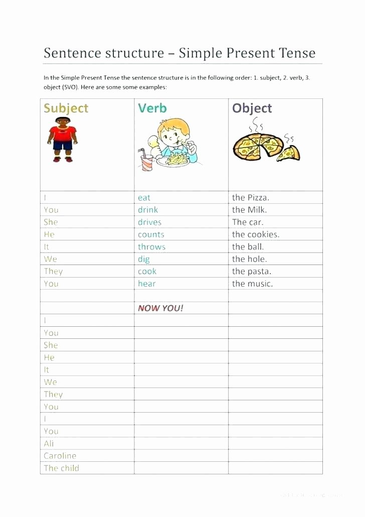 Improving Sentence Structure Worksheets Pound Sentences Worksheets Grade 1 Identifying Sentence
