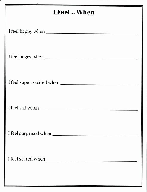 Impulse Control Worksheets Printable Free Printable Literacy Worksheets for Adults Reading