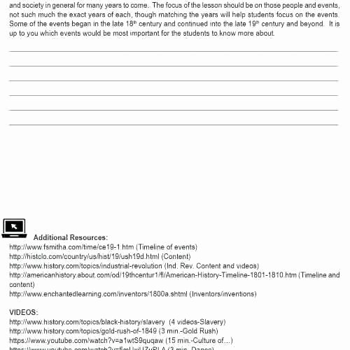 Industrial Revolution Worksheet Pdf Elegant Industrial Revolution Worksheets Pdf Industrial Revolution