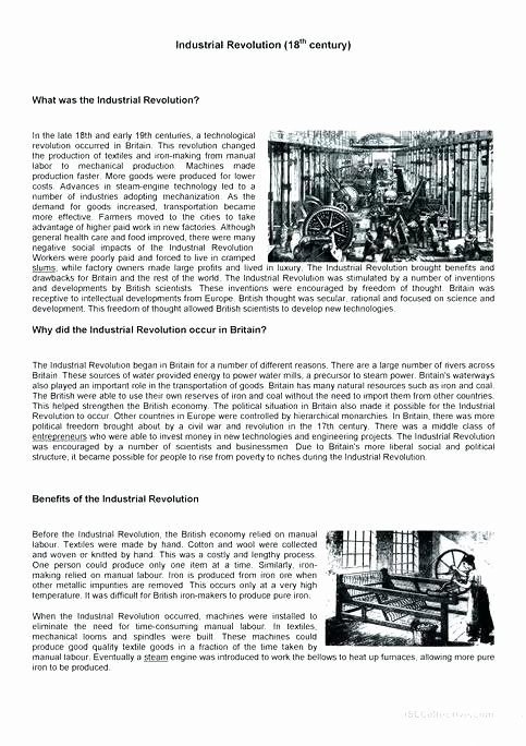 Industrial Revolution Worksheet Pdf Fresh Us Second Industrial Revolution America Worksheets American Pdf
