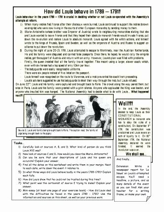 Industrial Revolution Worksheets Pdf Luxury Industrial Revolution Worksheets Economic Causes the