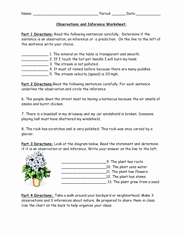 Inference Worksheets 4th Grade Pdf Inferences Worksheet 2 Inference Worksheets 5th Grade Pdf