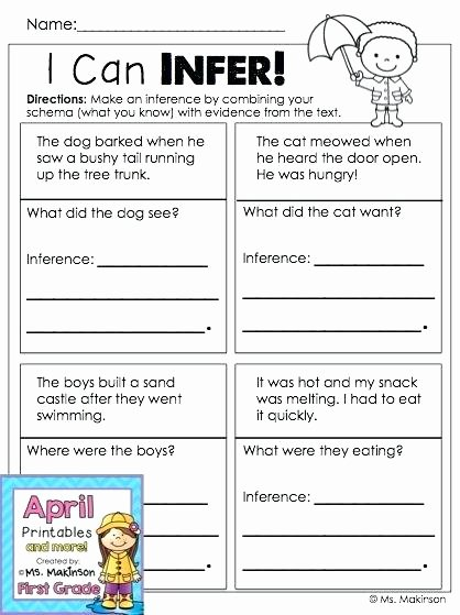 Inference Worksheets 4th Grade Pdf Inferencing Worksheets Grade 4 – Shopskipt