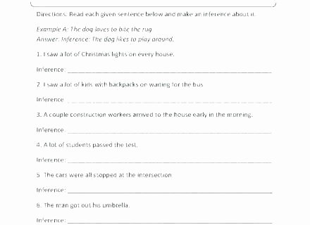 Inference Worksheets Grade 3 Making Inferences Worksheets 2nd Grade Free