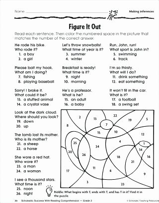 Inferencing Worksheets 4th Grade Inference Worksheets Printable Free Making Inferences 4th