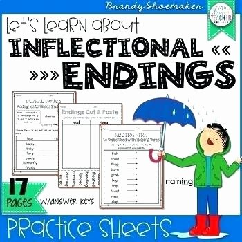 inflectional endings worksheet inflectional endings worksheet teaching resources teachers pay inflected worksheets grade for inflectional endings worksheet kindergarten