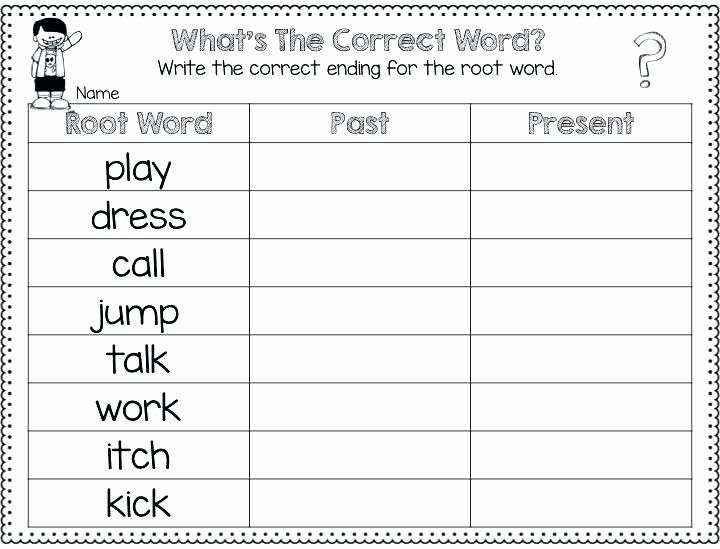 Inflected Endings Worksheets 2nd Grade Ing Worksheets Adding Ed Ing Worksheets 2nd Grade 7