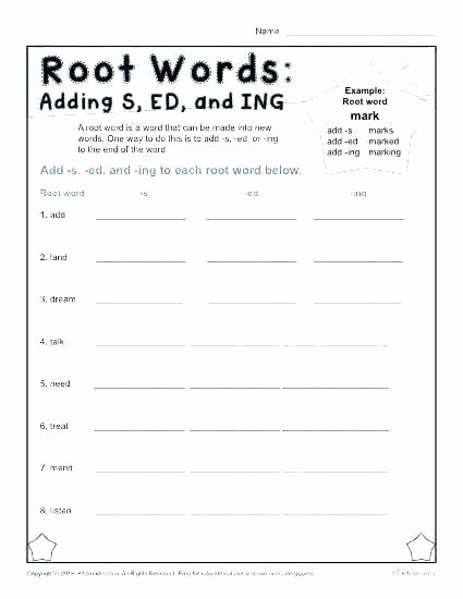 Inflected Endings Worksheets 2nd Grade Prefixes and Suffixes Worksheets 4th Grade – Openlayers