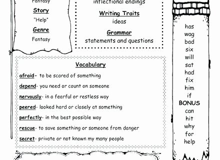 Inflected Endings Worksheets 2nd Grade Statements and Questions Worksheets 2nd Grade