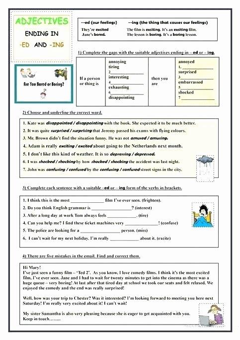 Inflected Endings Worksheets Ed Ending sounds Worksheets