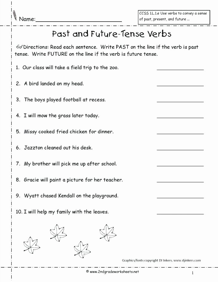 Inflected Endings Worksheets Verb Tenses Inflected Ending Worksheet Past Present Future