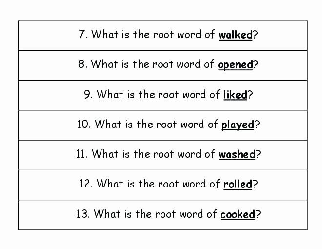 Inflectional Endings Worksheets 2nd Grade Inflectional Endings Worksheets 2nd Grade