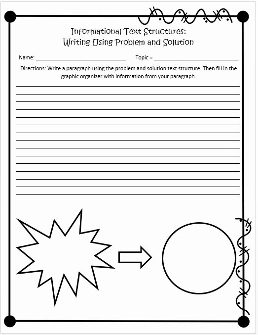 Informational Text Worksheets Middle School Informational Text Structures 4th and 5th Grades