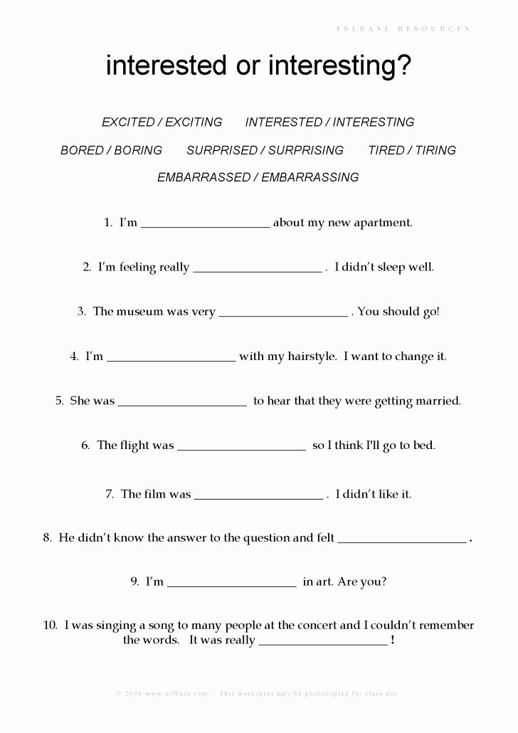 Ing Worksheets Grade 1 Elegant Worksheet Ideas Worksheets Picture Ideas Adjectives with