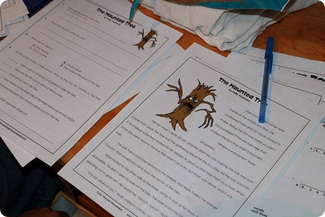 Insect Reading Comprehension Worksheets August 2015 Homeschooling 6