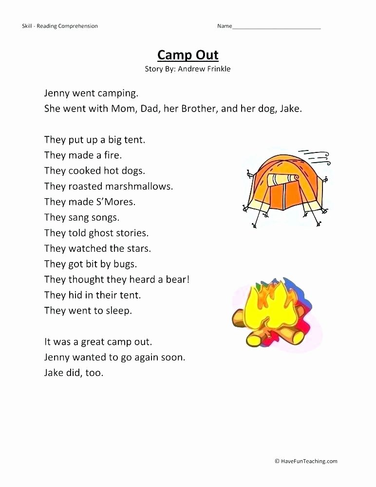 Insect Reading Comprehension Worksheets Grade 2 Reading Prehension Worksheets