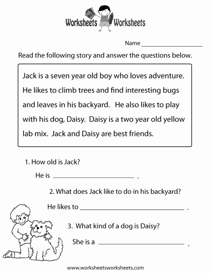Insect Reading Comprehension Worksheets Worksheet Ideas 32 Excelent Free Second Grade Reading