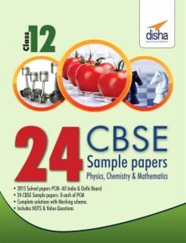 Integrated Physics and Chemistry Answers New 24 Cbse Sample Papers for Class 12 Physics Chemistry