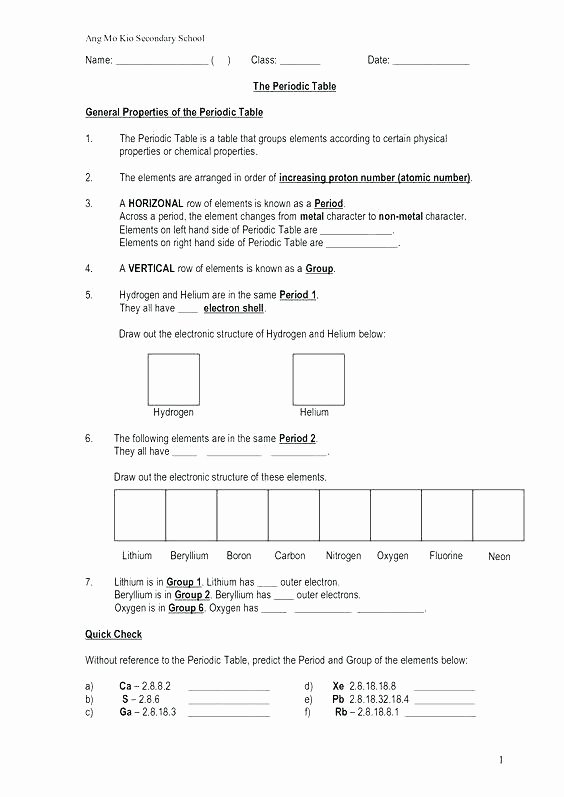 Integrated Physics and Chemistry Worksheets Inspirational Chemistry Worksheets