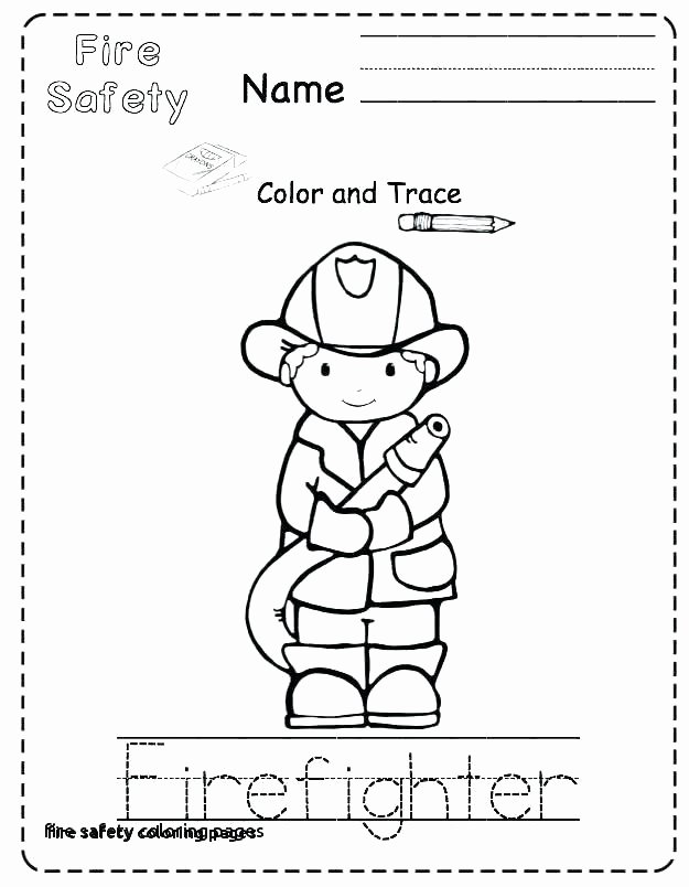 Internet Safety Worksheets Printable Fire Safety First Grade Worksheets
