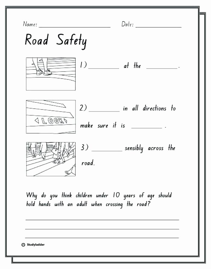 Internet Safety Worksheets Printable Safety Skills Worksheets