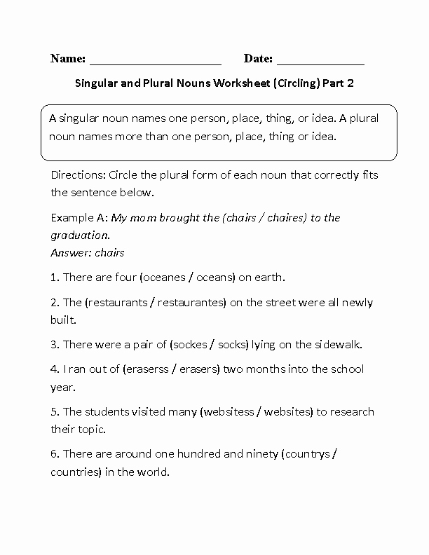 Irregular Plurals Worksheet Free Pin On Saas