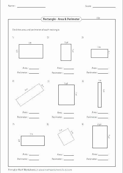 Irregular Shapes Worksheet Free Math Worksheets area Grade 6 and Perimeter – Owobox