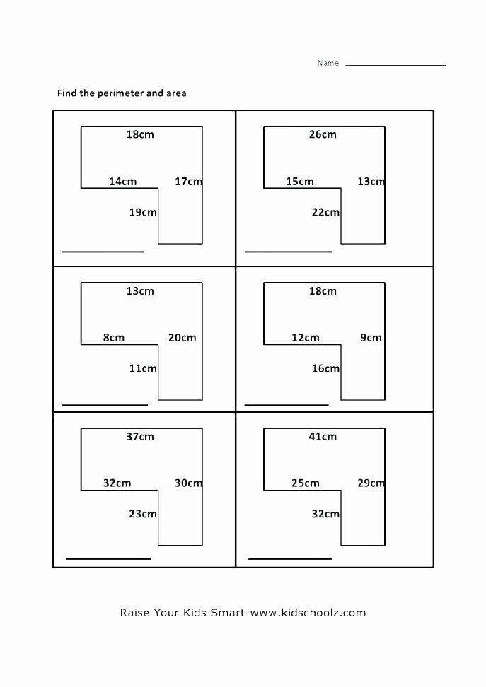 Irregular Shapes Worksheet Re Mendations area Irregular Shapes Worksheet Awesome