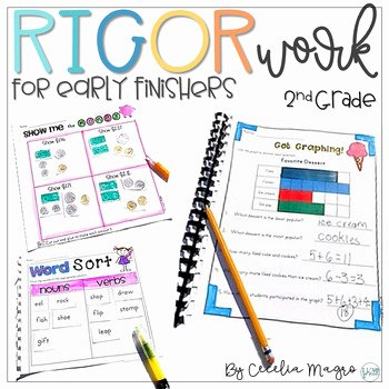 Irregularly Spelled Words 2nd Grade New Rigor Work for Early Finishers Second Grade