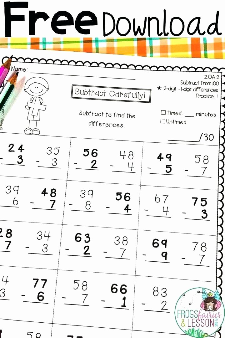 Istep Practice Worksheets 5th Grade First Grade Math Practice Worksheets