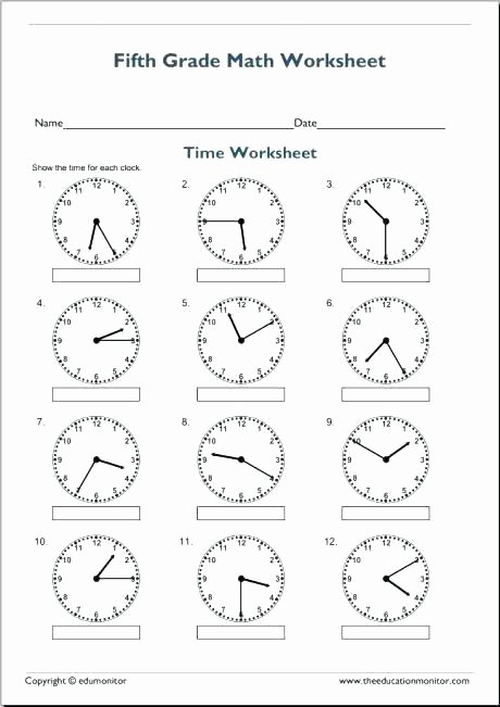 Istep Practice Worksheets 5th Grade Free Printable Fifth Grade Math Worksheets Learning and