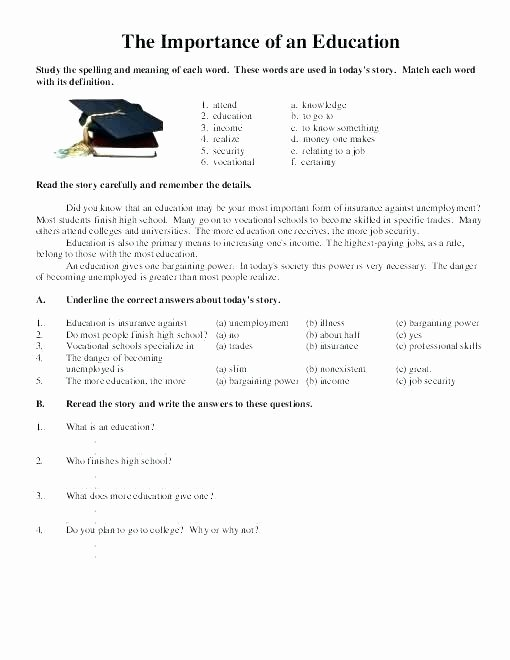 Job Readiness Printable Worksheets Free Life Skills Lesson Plans Life Skills Worksheets High