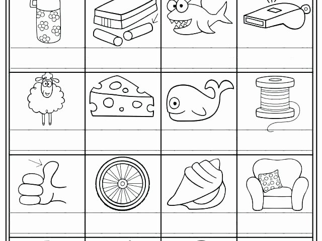 Jolly Phonics Worksheets for Kindergarten Letter sound Review Worksheets