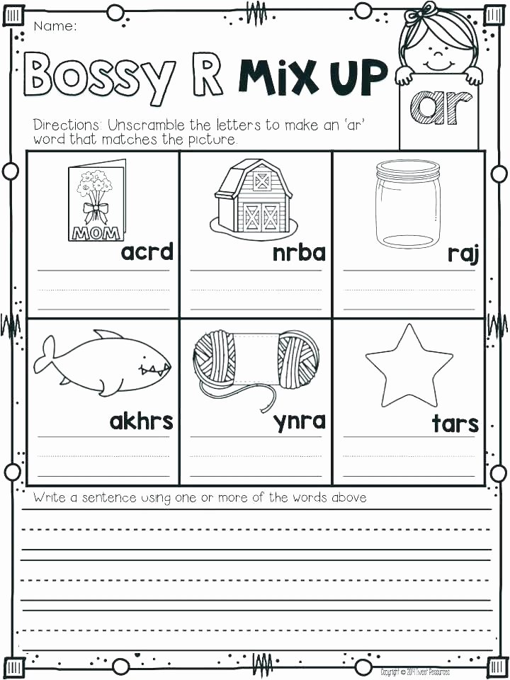 Jolly Phonics Worksheets Phonics First Grade sound Worksheets Digraph for Free