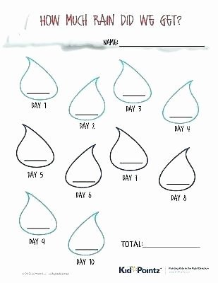 K5 Learning Math Grade 4 Rainfall Tracking Worksheet Science Worksheets for