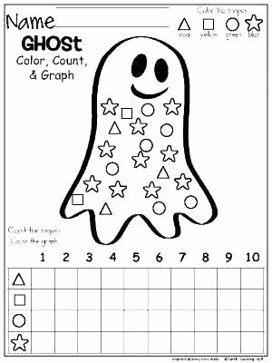 Kindergarten Color by Number Worksheets Coloring Worksheets for Preschool
