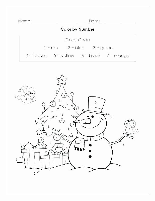 Kindergarten Color by Number Worksheets Fun Addition Worksheets