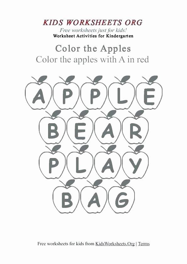 Kindergarten Color Words Worksheets Free Printable Kindergarten Worksheets Color Words for 1st