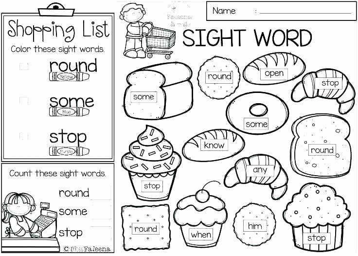Kindergarten Color Words Worksheets Pound Words Worksheets Grade Free Printable Pound