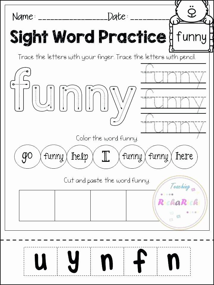 Kindergarten Cut and Paste Worksheets Rhyming Worksheets for Kindergarten Cut and Paste Along with