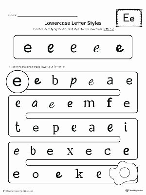 Kindergarten Lowercase Letters Worksheets Letter Recognition Printable Worksheets Letter Case