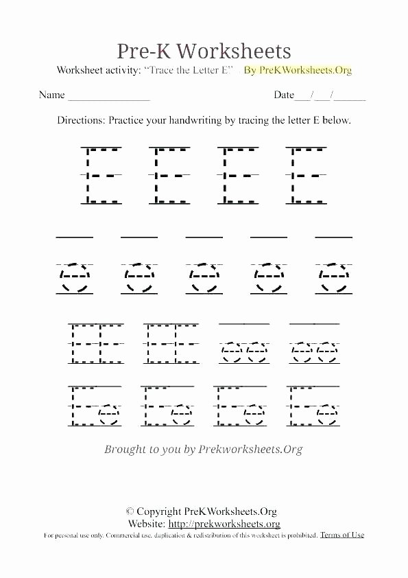 Kindergarten Lowercase Letters Worksheets Letter Writing Practice Letter Worksheets for Tracing and