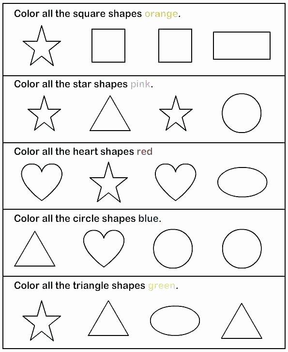 Kindergarten Math sorting Worksheets Pre K sorting Worksheets